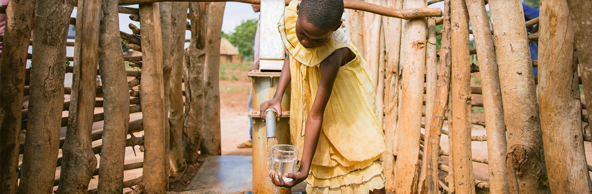 Fresh water brought to those in need.